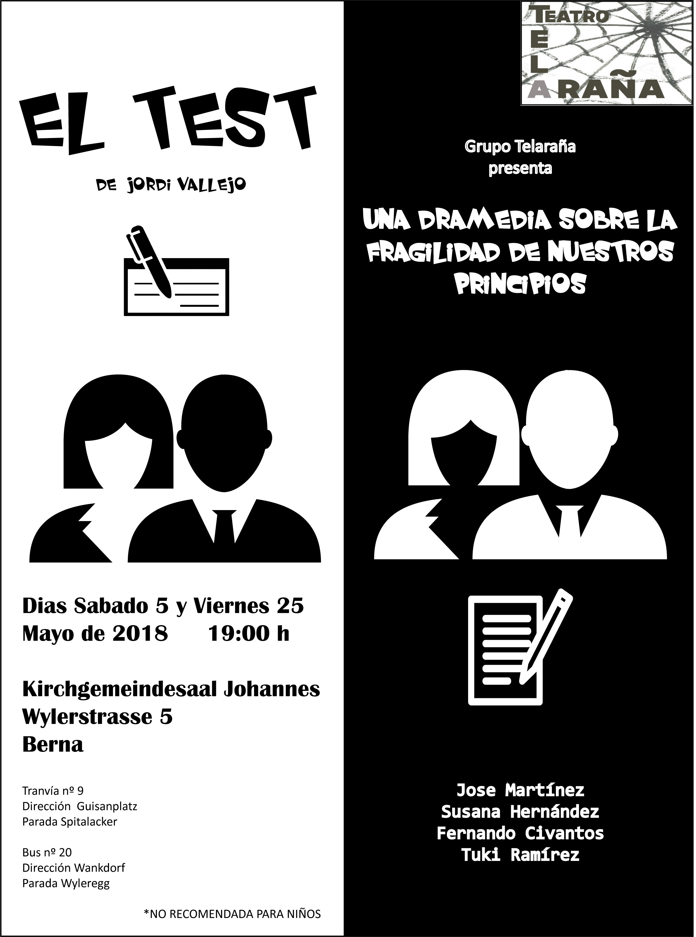 Cartel el Test 5